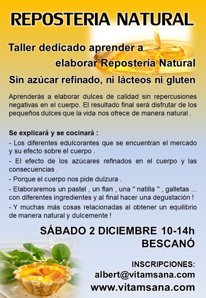 TALLER DOLÇOS BESCANO desembre 2017
