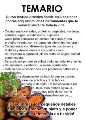 curso cocina natural girona 2